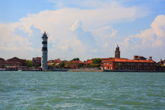Lighthouse, Murano island Royalty Free Stock Photography