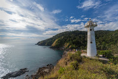 Lighthouse and National Park of Koh Lanta, Krabi, Thailand Royalty Free Stock Photography