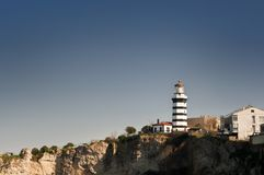 Lighthouse Landscape Royalty Free Stock Photography