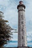 Lighthouse near the Ile de Re Stock Photos