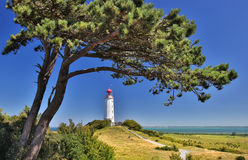 Free Lighthouse Near Kloster (Island Hiddensee - Germany) Royalty Free Stock Images - 60364769
