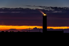Lighthouse near Le Havre, Normandy Royalty Free Stock Photo