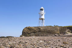 Lighthouse near Portishead, Somerset Stock Photos