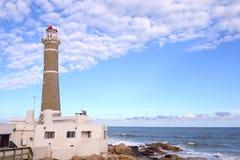 Lighthouse near Punta del Este, Uruguay Stock Photos