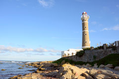 Lighthouse near Punta del Este, Uruguay Stock Images