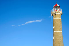 Lighthouse near Punta del Este, Uruguay Stock Image