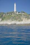 Lighthouse near Saint Jean Cap Ferrat, French Riviera, France Stock Photography