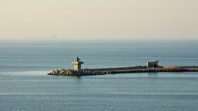 Lighthouse near Sozopol Stock Photography