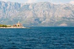Lighthouse near Sucuraj in Croatia Stock Photo