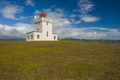 Lighthouse near Vik stock image