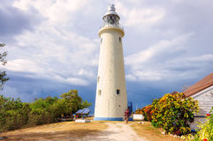 Lighthouse in Negril, Jamaica royalty free stock images