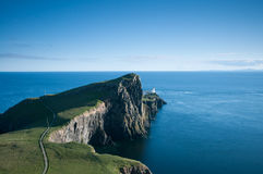 Lighthouse at Neist Point Royalty Free Stock Photography