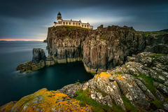 Neist Point lighthouse stock images