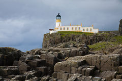 Lighthouse, Neist Point, Scotland Stock Photos