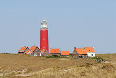 Lighthouse in the Netherlands. Lighthouse in Texel, the Netherlands Royalty Free Stock Photography
