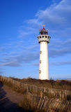 Lighthouse in the Netherlands Royalty Free Stock Images