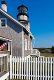 Lighthouse in New England Royalty Free Stock Images