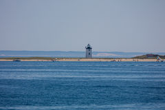 Lighthouse in New England Royalty Free Stock Photos
