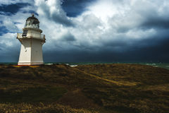 Lighthouse, New Zealand. Lighthouse in the Catlins, South Island in New Zealand Stock Images