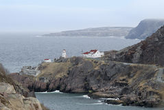 Lighthouse - Newfoundland, Canada Stock Image