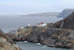 Lighthouse - Newfoundland, Canada Stock Image
