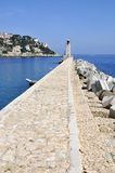 Lighthouse of Nice in France Stock Image