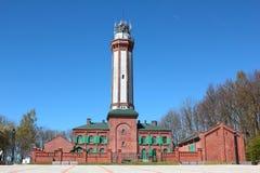 Lighthouse in Niechorze Stock Photos