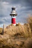 Lighthouse in Nieuwpoort. Stock Photos