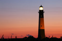 Lighthouse at the night Royalty Free Stock Photos