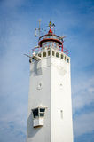 Lighthouse in Noordwijk. With a blue sky Royalty Free Stock Photos
