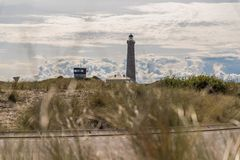 Lighthouse landscape Royalty Free Stock Images