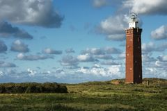 Lighthouse. At the North Sea from South Holland Stock Photo