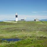 Lighthouse, Northern Ireland Royalty Free Stock Photos