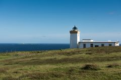 Lighthouse, Duncanby, Northern Scotland Royalty Free Stock Photos