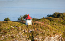Lighthouse in Norway Royalty Free Stock Photography