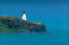 Lighthouse in Nova Scotia Stock Photo