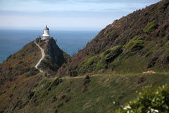Lighthouse at Nugget Point, New Zealand Royalty Free Stock Images