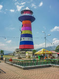 Lighthouse in Nutibara Hill Medellin Royalty Free Stock Image
