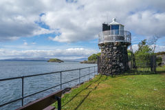Lighthouse, Oban, Scotland Royalty Free Stock Images