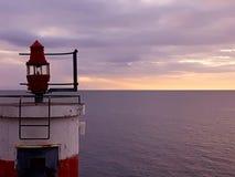 Lighthouse. By the ocean Stock Photos