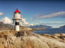Lighthouse  Ocean Coast Nordland Stock Photos