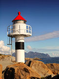Lighthouse  Ocean Coast Nordland Stock Photography