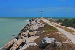 Lighthouse ocean Panorama mexico churbuna Stock Photos