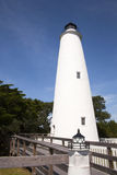 Lighthouse on Ocracoke Island Royalty Free Stock Image