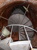 Inside Ocracoke Light Station on the North Carolina Outer Banks royalty free stock image