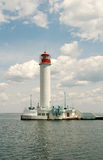 Lighthouse (Odessa, Ukraine) Royalty Free Stock Image