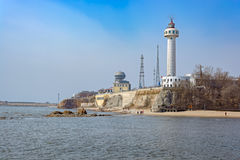 Free Lighthouse Of Qinhuangdao Port Royalty Free Stock Photography - 91274007