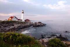 Lighthouse off the coast of the United States. Eastphoto, tukuchina, Lighthouse off the coast of the United States, Tourist destinations, foreign Stock Image