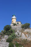 Lighthouse old fortress Corfu Royalty Free Stock Photography