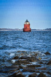 The Lighthouse. The old lighthouse at Sandy Point Sate Park, MD USA Stock Photography